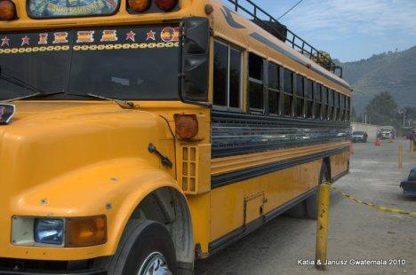 Gwatemala - Chicken buses
