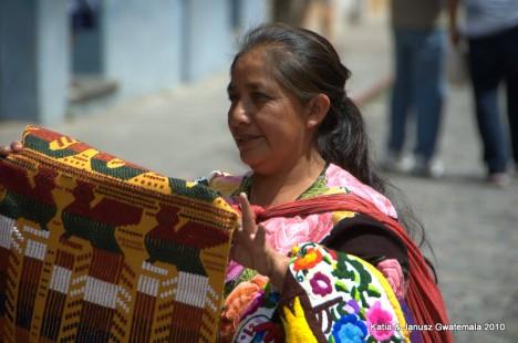 Gwatemala - Antigua kobieta