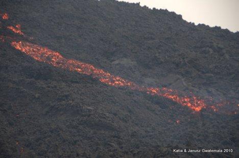 Gwatemala - wulkan Pacaya