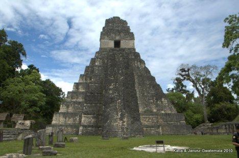 Tikal swiatynia Jaguara