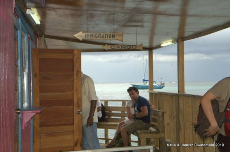 granica miedzy Belize i Meksykiem