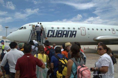 Cubana samolot YAK420
