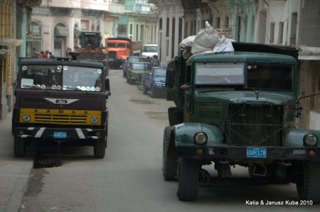 Kuba, stare samochody