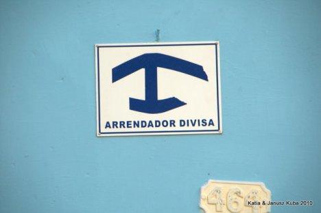 Kuba znak Casa Particulare