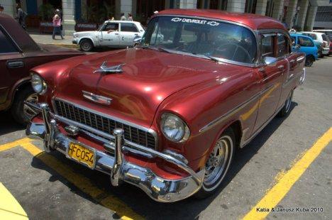Kuba, stary amerykanski samochod