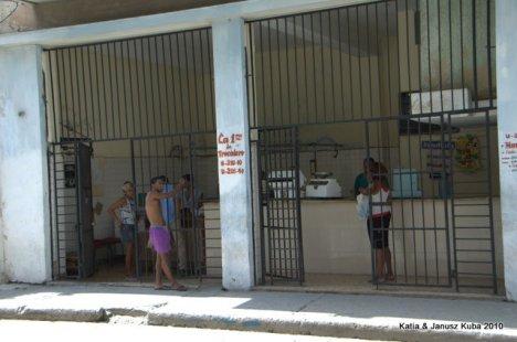Kuba - puste polki w sklepie