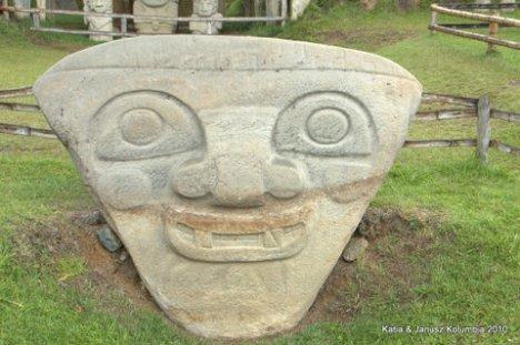 Kolumbia San Augustin Park Archeologiczny