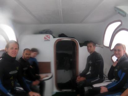Galapagos, nurkowanie 2010