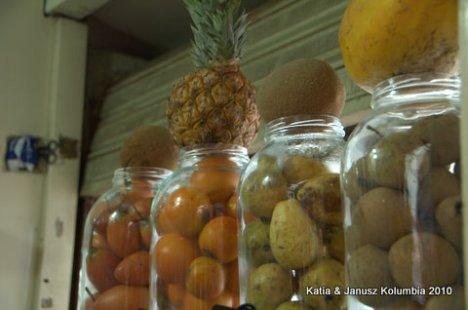 Kolumbia owoce