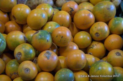 Kolumbia owoce Lulo