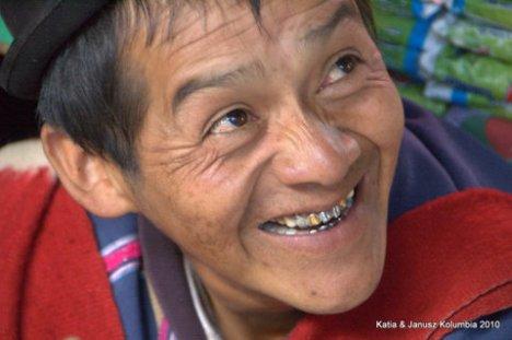 Kolumbia Silvia Indianie Gumbiano