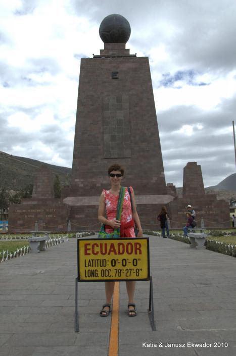 Ekwador, Mitad del Mundo