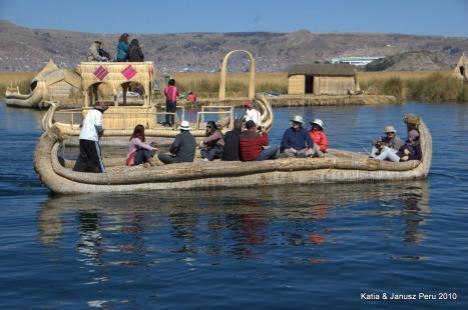 Peru wyspy Uros