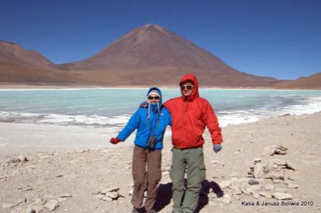Boliwia Altiplano laguna verde