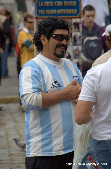 Argentyna Buenos Aires Maradona