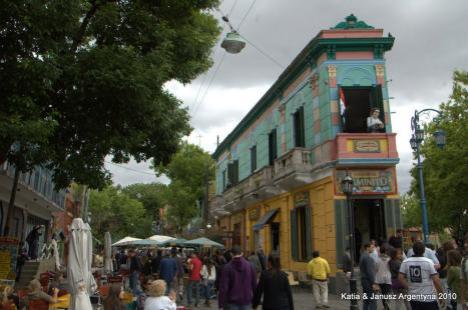 Argentyna Buenos Aires la Boca